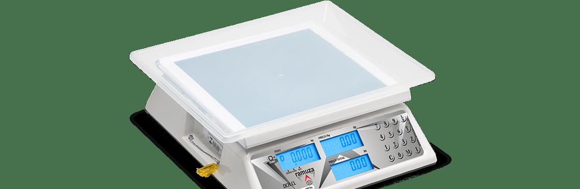 Balança Computadora Cristal Líquido com Back Light DCRB CL